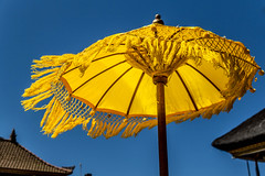 Umbrella (MaxSkyMax) Tags: bali lake yellow umbrella canon indonesia clear danau beratan canonefs1585mmf3556isusm mygearandme mygearandmepremium