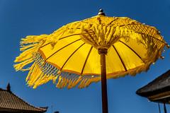 Umbrella (MaxSkyMax) Tags: bali lake yellow umbrella canon indonesia clear danau beratan canonefs1585mmf3556isusm mygearandme mygearandmepremium