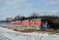 P1310073 (Lumixfan68) Tags: eisenbahn db bahn deutsche regio 218 züge loks baureihe dieselloks