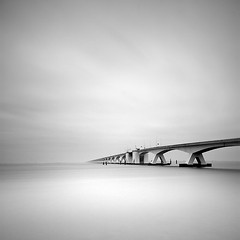 _MG_4674 (Didier Demaret) Tags: longexposure bridge sea blackandwhite bw monochrome landscape photography seascapes fineart zeeland minimal nd minimalism waterscape minimalisme zeelandbridge