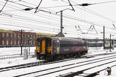 CRW_1811 (Darren J Hedges) Tags: railcar multiple doncaster 153 eastcoastmainline ecml class153 northerntrains unit diesel