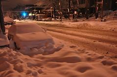 Aprs la tempte du 19 mars (abdallahh) Tags: snow canada night montral snowstorm qubec neige nuit nix tempte verdun       snigw