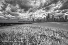 (1 Johnny) Tags: park city light sky usa white chicago storm black nature water beautiful weather clouds canon illinois sand downtown image cloudy stormy lakemichigan johnhancock stormyweather chicagoskyline northavebeach chicagoil chicagoweather october2012 hurricanesandy