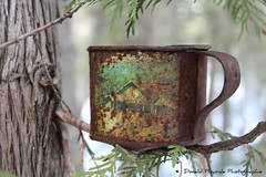 Rouill \ Rusted (deplour) Tags: cup tasse coffee caf rusty rusted rouille rouill