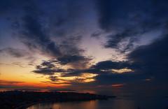 Sunrise HDR (C McCann) Tags: ocean morning sea sky canada west vancouver clouds sunrise de island bay coast spring oak warm mt baker bc juan columbia victoria mount british sprung strait fairfield fuca haro