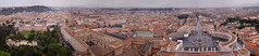 From the top of St Peter's Basilica (Alistair Hamill) Tags: city italy vatican rome panoramic