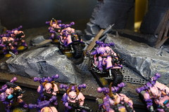 Chaos Space Marines 01 NDOD (Blue Table Painting) Tags: blue painting table chaos space 40k 01 warhammer marines ndod