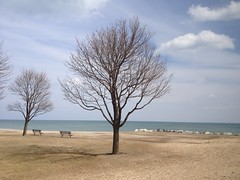 Half marathon alone by Lake Michigan (Daigo Tanaka) Tags: mckinleybeach uploaded:by=flickrmobile flickriosapp:filter=nofilter