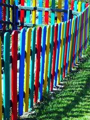 Multicolour Fence (tittytwister11) Tags: fence colours fuerteventura zaun multicolour farben fuerte mehrfarbig
