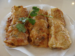 Fried Bean Curd Roll (knightbefore_99) Tags: lunch bc tofu chinese shrimp dimsum szechuan roll beancurd chongqing fried commercialdrive eastvan