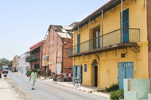 Old town of Saint Louis