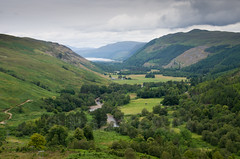 Up The Glen (Ron Pettitt) Tags: trees weather clouds scotland sheep glen hills pasture farms ullapool lochbroom ronpettitt pentaxk5 riverbroom