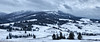 Panoramic image of snowy Carpathian mountains (nickolay_khoroshkov) Tags: morning winter sky panorama cloud white mountain snow storm tree nature forest season landscape outdoors cloudy snowy hill stormy ukraine panoramic ridge fir mountainside spruce carpathian