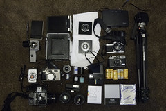 FPP Meet Gear (Alex Luyckx) Tags: gas gear cameras fpp filmphotographypodcast fppwalkingworkshop whatsinthebag