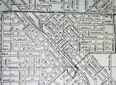 Turlock CA  (May 1959) (davecito) Tags: california blackandwhite map ephemera planning turlock 1950s transportation cartography roadmap urbanplanning centralvalley drafting streetmap citymap oldmap stanislauscounty mapco vintagemap highwaymap usroute99 sanjoaquinrivervalley modestometropolitanarea