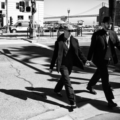 Men In Black (Nick Lambert!) Tags: sanfrancisco street blackandwhite bw fuji streetscape meninblack nicklambert fujix100