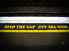Mind the gap - North Brighton Station (Anklosed Photographer) Tags: camera station canon brighton north rail australia victoria s80 compact compacts