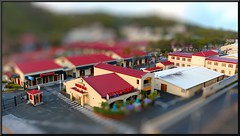 Mini Havensight Mall (d13m7) Tags: geotagged paintshop miniature selectivefocus usvi faketiltshift havensightmall pspx4 paintshopprox4