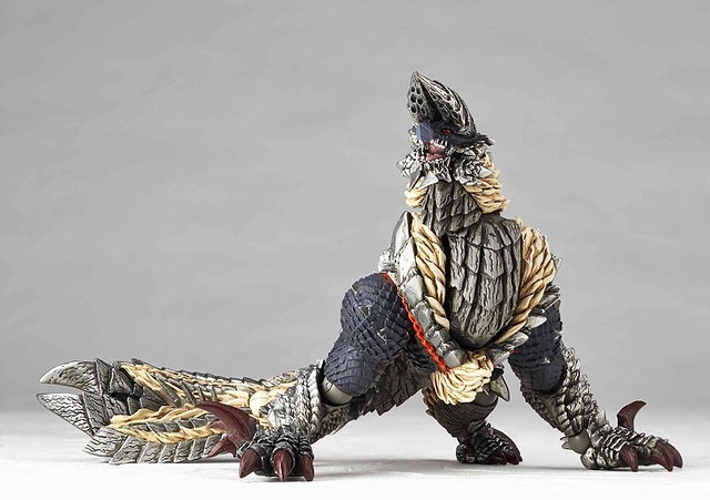 海洋堂 Revoltech MONSTER HUNTER – 雷狼龍(亞種)