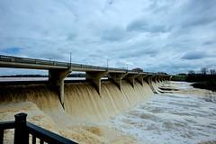 Scioto River at Powell, Ohio (durand clark) Tags: columbus ohio flood dam powell sciotoriver