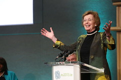 Mary Robinson, President of the Mary Robinson Foundation - Climate Justice