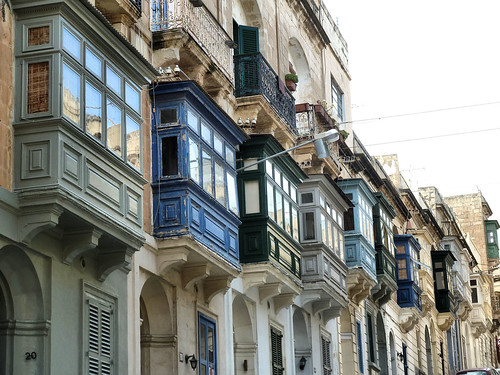 Balkone in Valletta - Balconies in Valletta
