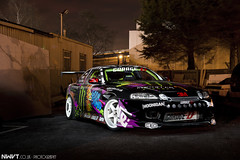 Monster Energy Athlete Buttsy Butler 2013 Drift Car Unveil (NWVT.co.uk) Tags: buttsy butler 2013 car unveil monster energy athlete drift driftr drifting uk toyota soarer rb25 engine lexus julian smith garage d cobra seats garret turbo takata harness nwvt photography long exposure hoonigan goon squad