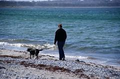 Walking the dog (osto) Tags: woman denmark europa europe sony zealand tina dslr scandinavia danmark a300 sjlland  osto alpha300 osto april2013
