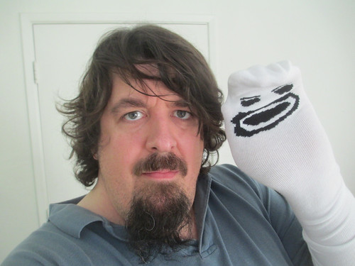 Me and Mr. Socko