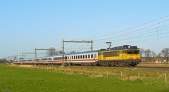 NS 1767 met trein 142 (twenterail) Tags: ic ns 1767 nshispeed ns1700