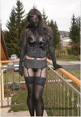 P4200016f (Sarka Encasement) Tags: black nylon encasement