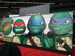 110 (Doe Eyed) Tags: lego tmnt fanexpo