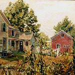 "<b>The Homestead</b><br/> Ouren, Oil, LFAC# 072, Painting<a href=""http://farm9.static.flickr.com/8243/8672784594_3f0fa77711_o.jpg"" title=""High res"">∝</a>"