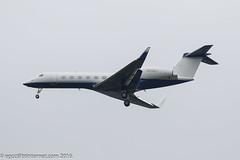 N500J - 2014 build Gulfstream G550, on approach to Runway 23R at Manchester (egcc) Tags: 5496 bizjet egcc g550 gulfstream johnsonjohnson lightroom man manchester n500j ringway