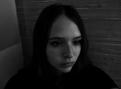 Autoportrait 1 (Chloé Pichouron) Tags: woman selfportrait me myself autoportrait femme young special athome 18yo