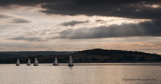 Sailing down the Exe