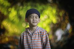 Happy Face (hakimhasnul) Tags: morning kids children bokeh sony 85mm swirl potrait swirly helios russianlens bokehlicious a7r helios40 helios85mm sonya7r manualense