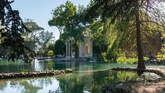 Temple of Asclepius (Di_Chap) Tags: rome italie temple lake villaborghese templeofasclepius italy roma italia