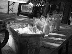 ice cream sunday (tobsest) Tags: ice cream sunday olympus omd em10 bw black white eis