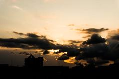 Sunset (ademilo) Tags: sky clouds sun sunshine city