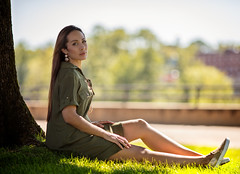 Arlene (QuarryClimber) Tags: female woman brunette browneyes manchester manchesternewhampshire beauty beautiful longhair face hair relaxed summer urban city