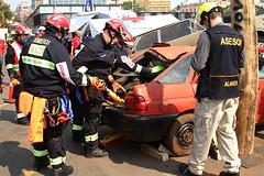 Competencia de Rescate Vehicular 2016 (Juandy Del Puerto) Tags: rescue asuncion paraguay firefighters firefighter bomberos bombero cuerpo de voluntarios rescate vehicular