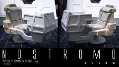 NOSTROMO-MOTHER-CHAIR8 (sith_fire30) Tags: alien nostromo scratchbuilding model building sheet styrene diorama prometheus covenant narcissus shuttle ripley rildley scott mother muthur6000 sithfire30 dayton allen custom action figure
