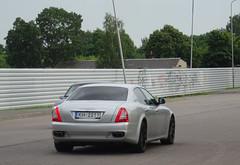 Maserati Quattroporte (peterolthof) Tags: riga maserati quattroporte