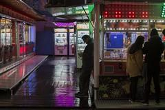 . (Le Cercle Rouge) Tags: paris france foiredutrne boisdevincennes amusement luna park carnival carnies carny humans shadows silhouettes darkness light glow magic rides games