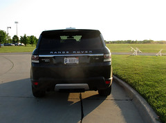 Parking Fail (*hajee) Tags: 488ayp indiana license rangerover billjacobs hinsdale