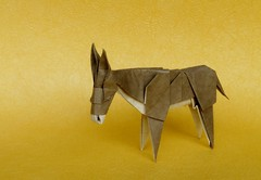 Donkey by Roman Diaz (Andrea Borsa) Tags: roman diaz paper origami donkey asino
