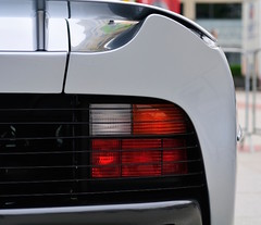 Jaguar XJ220 (mi1924) Tags: british english grey jaguar jaguarxj220 midengined rear rearlight spoiler sportscar supercar tomwalkinshawracing twr xj220