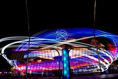 DSC02287 (Moodycamera Photography) Tags: canadiannationalexhibition cne toronto ontario nightphotography rides slowshutterspeed long exposurerlights ferriswheel swing turning twisting spining amusment horse hdr