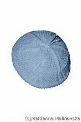 DSC_0609-2 (imramianna) Tags: handmade knitting вязание моимируками yarmulke traditional jewish headwear pile